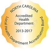 North Carolina Local Health Department Accreditation Board Seal